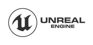 Black Logo of the Unreal Engine 4